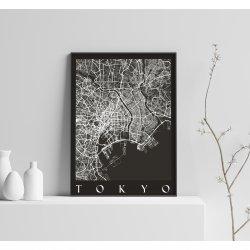 TOKYO BLACK CITY MAP