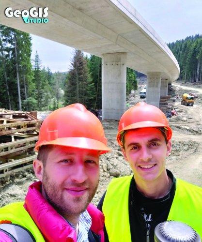 Geodetski radovi pri izgradnji Mosta M13
